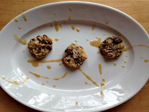 Chocolate Tahini Cookies 1