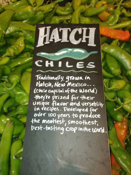 hatch chile at Whole Foods