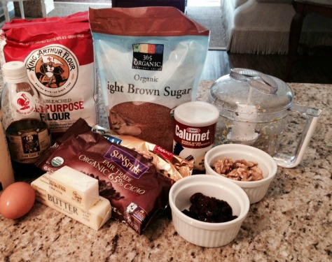 Traditional ingredients like brown sugar, butter and flour are the foundation for the delicious cookie batter.