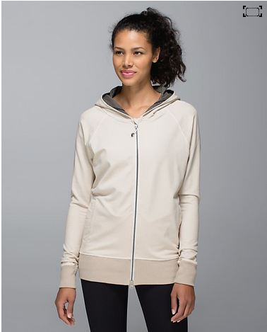What's not to love about this stylish hoodie? It's super chic and it looks very comfortable. Available via lululemon.